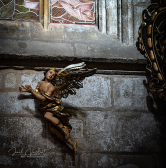 DETAIL, ST. BARBARA'S CATHEDRAL, KUTNA HORA