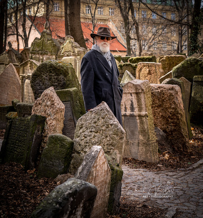 OLD JEWISH CEMETERY OUTSIDE OF PINKAS SYNAGOGUE