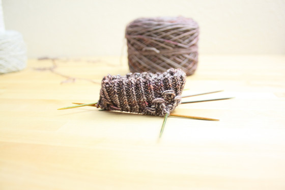 Dear Knitting, I am in love with you again...
