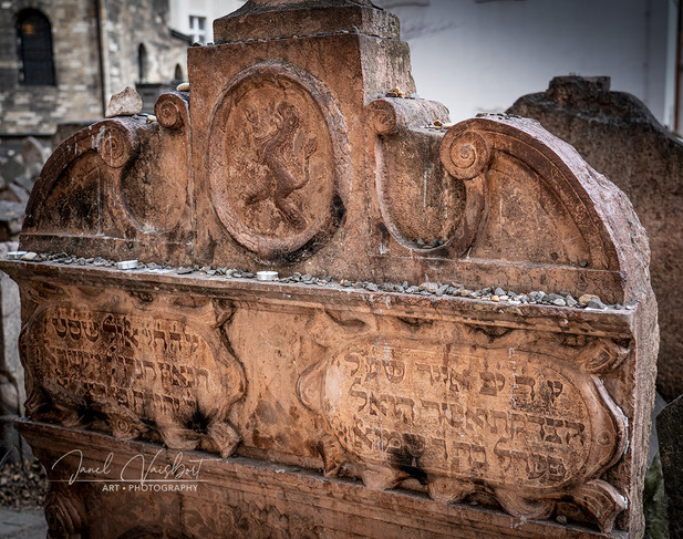 TOMB OF RABBI LOWE,  THE MAHARAL