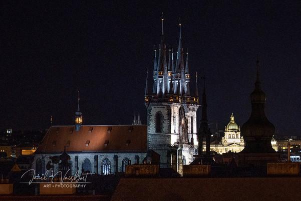 NIGHT VIEW, PRAGUE