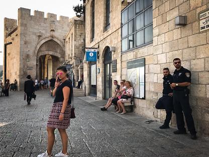 JAFFA GATE - JERUSALEM
