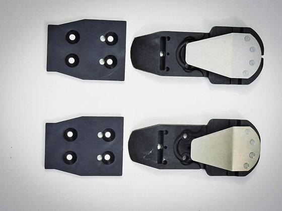 Universal DAB riser + Key shim kit - Telebry8