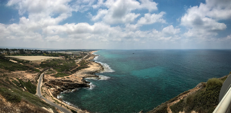 VIEW FROM THE TOP OF ISRAEL