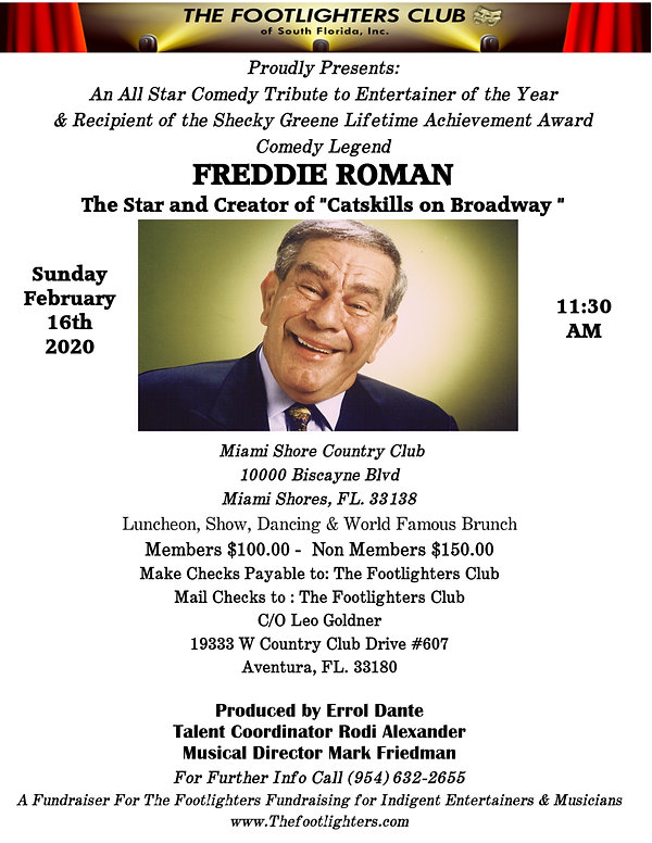 Footlighters Flyer Freddie Roman (1) (1)