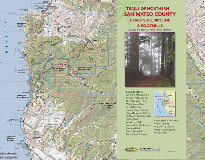 Trails of Northern San Mateo County