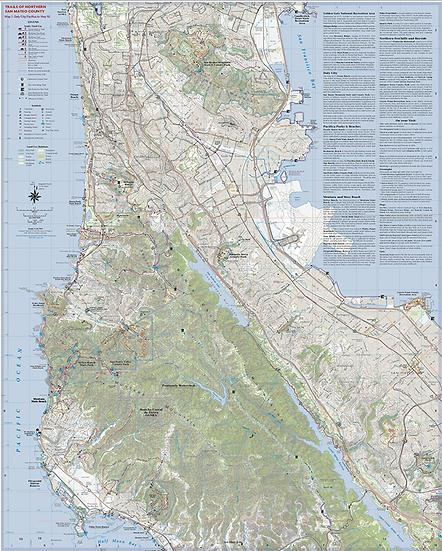 Unfolded Northern San Mateo County