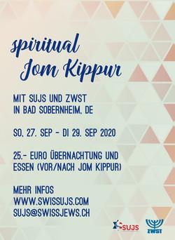 Spirtual Jom Kippur