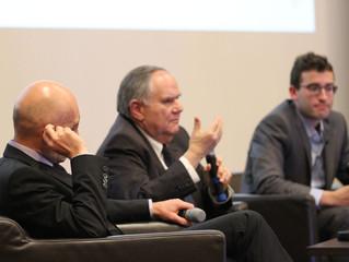 Podiumsdiskussion zum Thema Migration, Terrorismus und Sicherheit