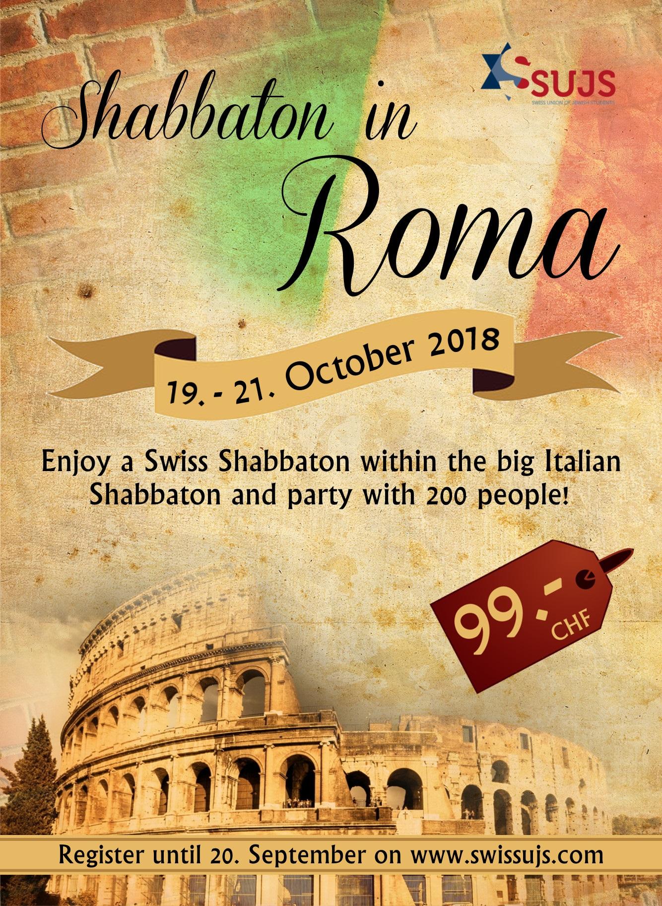 Shabbaton a Roma