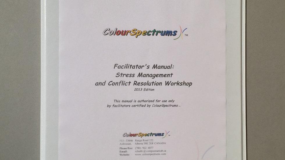 CS 012 Facilitators Manual: Stress Management and Conflict Resolution