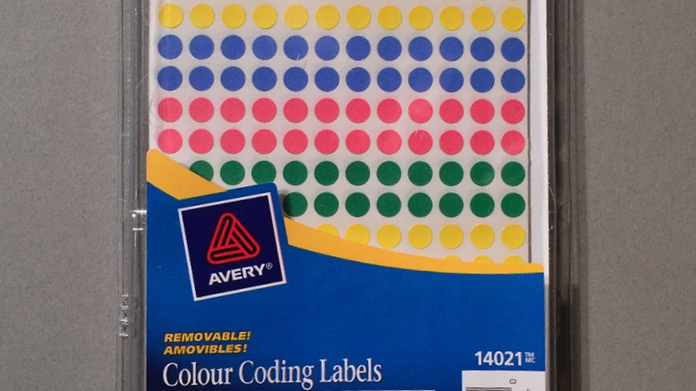 CS 008 ColourSpectrums Colour Dots in Package