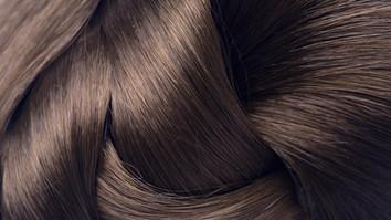 Gepflegtes langes Haar.