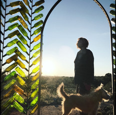 Sharon Holnback, Roscoe at Emerald Glass Castle