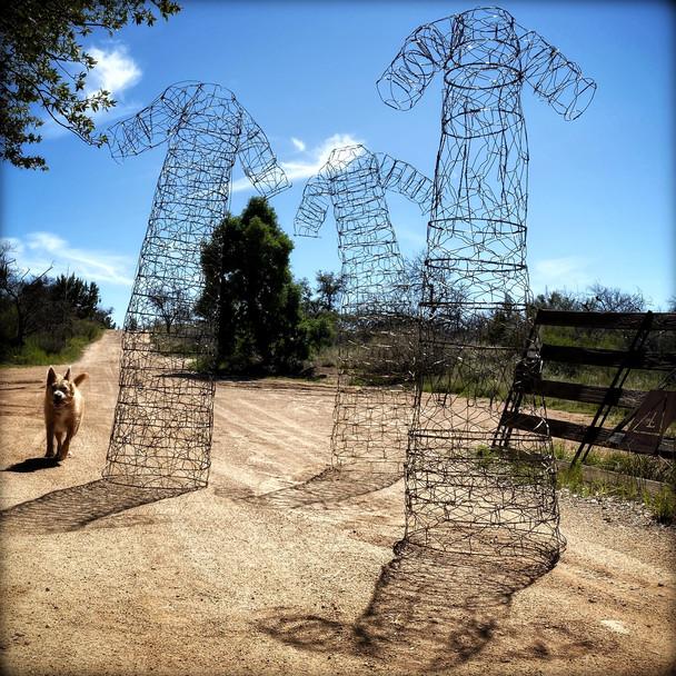 David Adix • Wire Hanger Sculpture