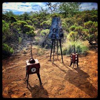Metal Sculptures Artist Bryan Crow