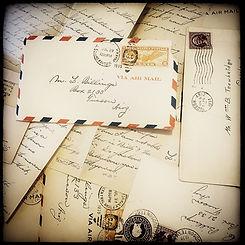 Trowbridge Letter Photo by Patricia Katc