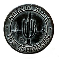 Artifact found on Triangle L Ranch in 2020. Does anyone know about the Arizona State Tax Commission coin? Please let us know...