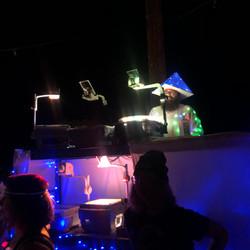 Liquid Solid Light Show at GLOW! 2019