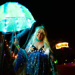GLOWing Costumes turn attendees into participants!