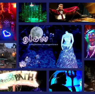 GLOW! a nighttime art experience