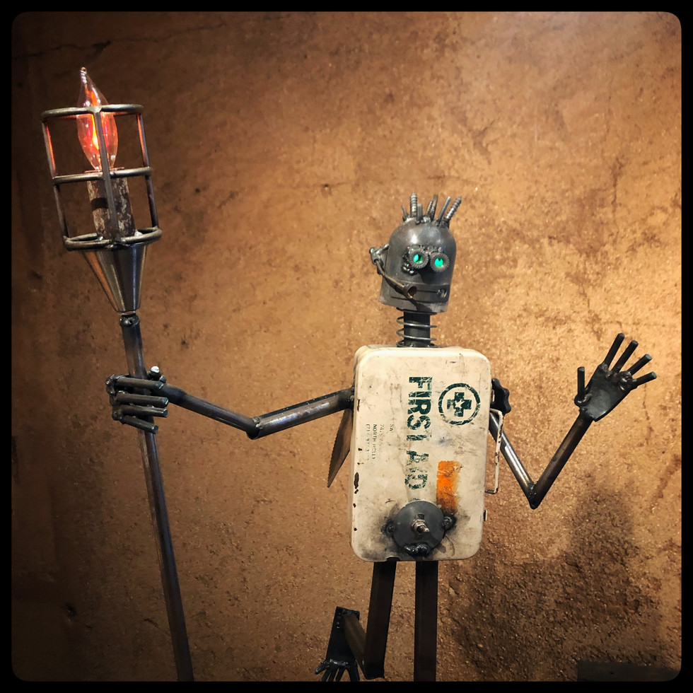 Peter Borowski • Steel Lamps