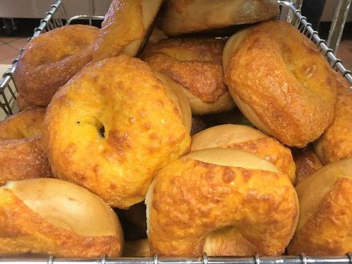 Box of 12 - Cheddar Bagels