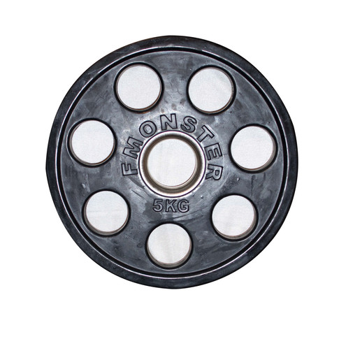 5KG OLYMPIC RUBBER WEIGHT COMMERCIAL GRADE
