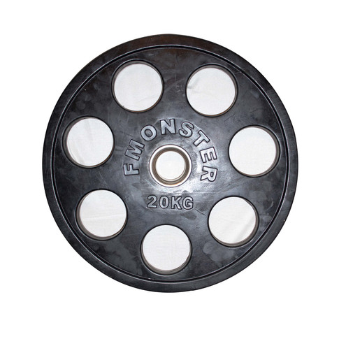 20KG OLYMPIC RUBBER WEIGHT COMMERCIAL GRADE