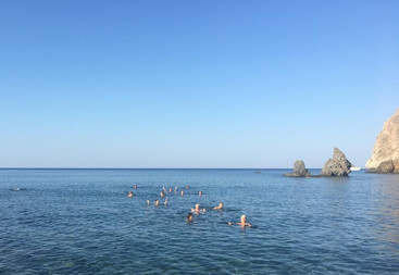 Kollektives Schwimmen