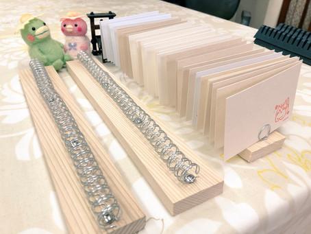 印刷物を乾かす台の作り方をご紹介します