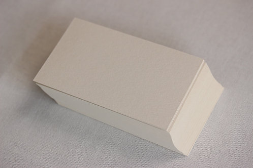 名刺用紙50枚[ハーフエアコルク]