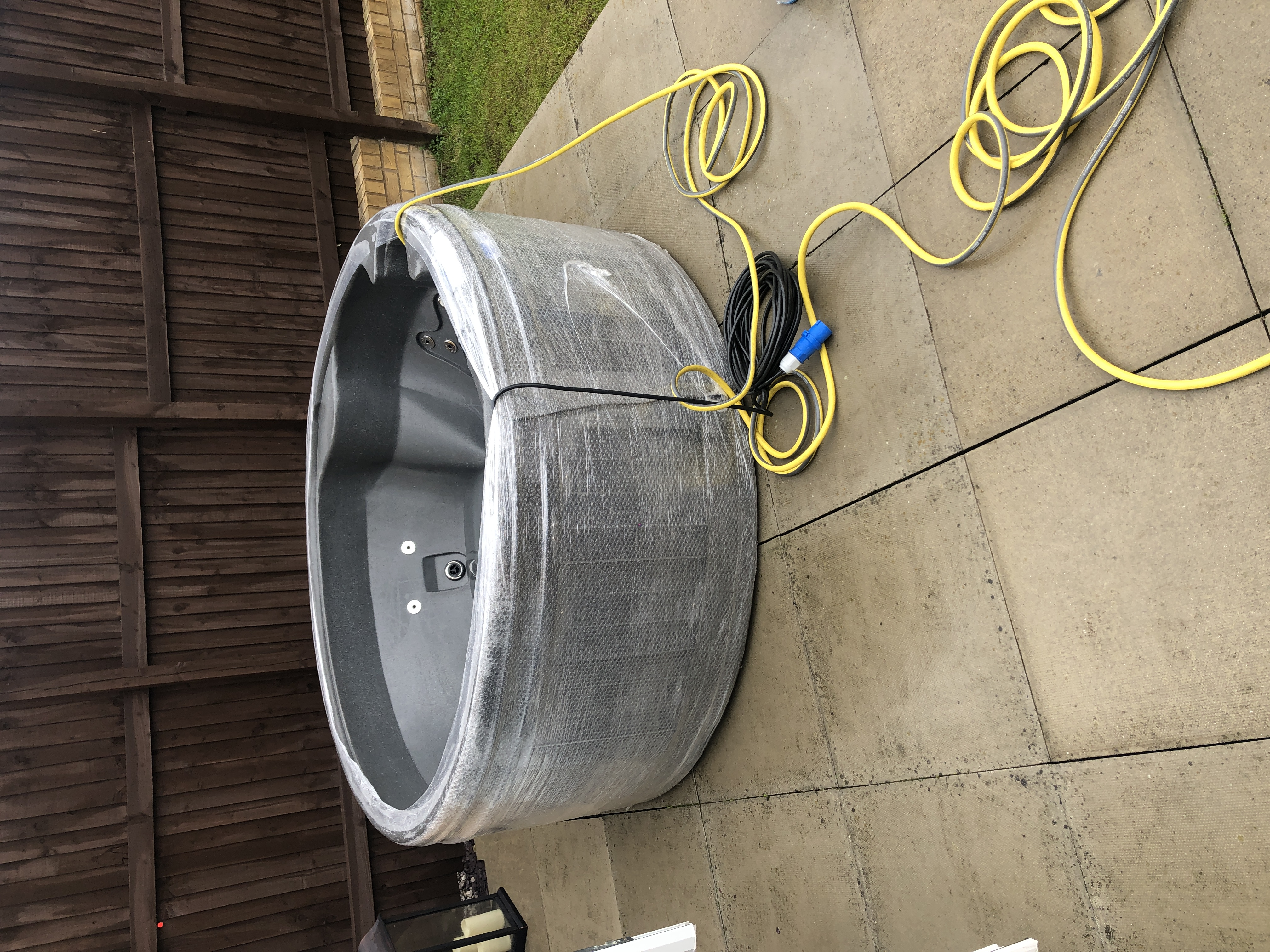 New Rotospa Orbis Eazy Hot Tub Hire Yorkshire hot tub rotherham Sheffield Barnsley Doncaster Wakefie