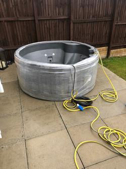 New Rotospa Orbis Eazy Hot Tub Hire Yorkshire hot tub rotherham Sheffield Barnsley Doncaster Wakefie