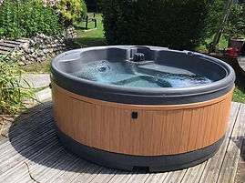 eazy hot tub hire solid hot tub rotherham sheffield barnsley wakefield doncaster party hire a hot tub rent inflatable birthday hire a monaco orbis decking