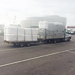 eazy hot tub hire delivery wrapped with cover portable rotherham sheffield barnsley wakefield doncaster party hire a hot tub rent inflatable birthday hire delivery van free storage