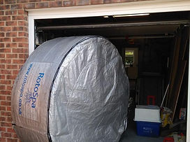 eazy hot tub hire delivery wrapped with cover po rotherham sheffield barnsley wakefield doncaster party hire a hot tub rent inflatable birthday hire portable store