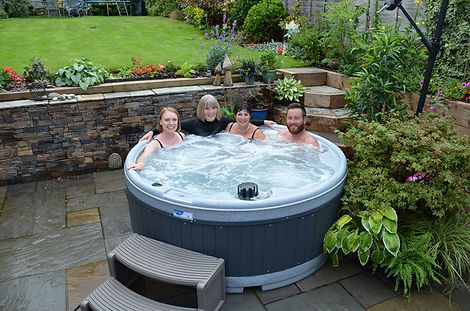 rotherham hot tub long term hire quatro rotospa orbis garden party hot tub disco lights barnsley rotherham sheffiled doncaster wath wakefield rotospa pontefract yorkshire south solid hot tub weekend lease granite grey friends party ideas hot tub hire