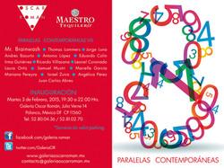 INVITATION PARALELAS CONTEMPORANEAS