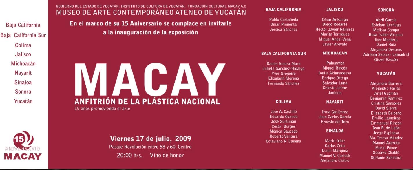 invitation MACAY