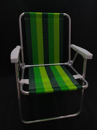 Cadeira Alta de Alumínio