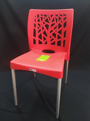 Cadeira Deluxe c Perna de Alumínio
