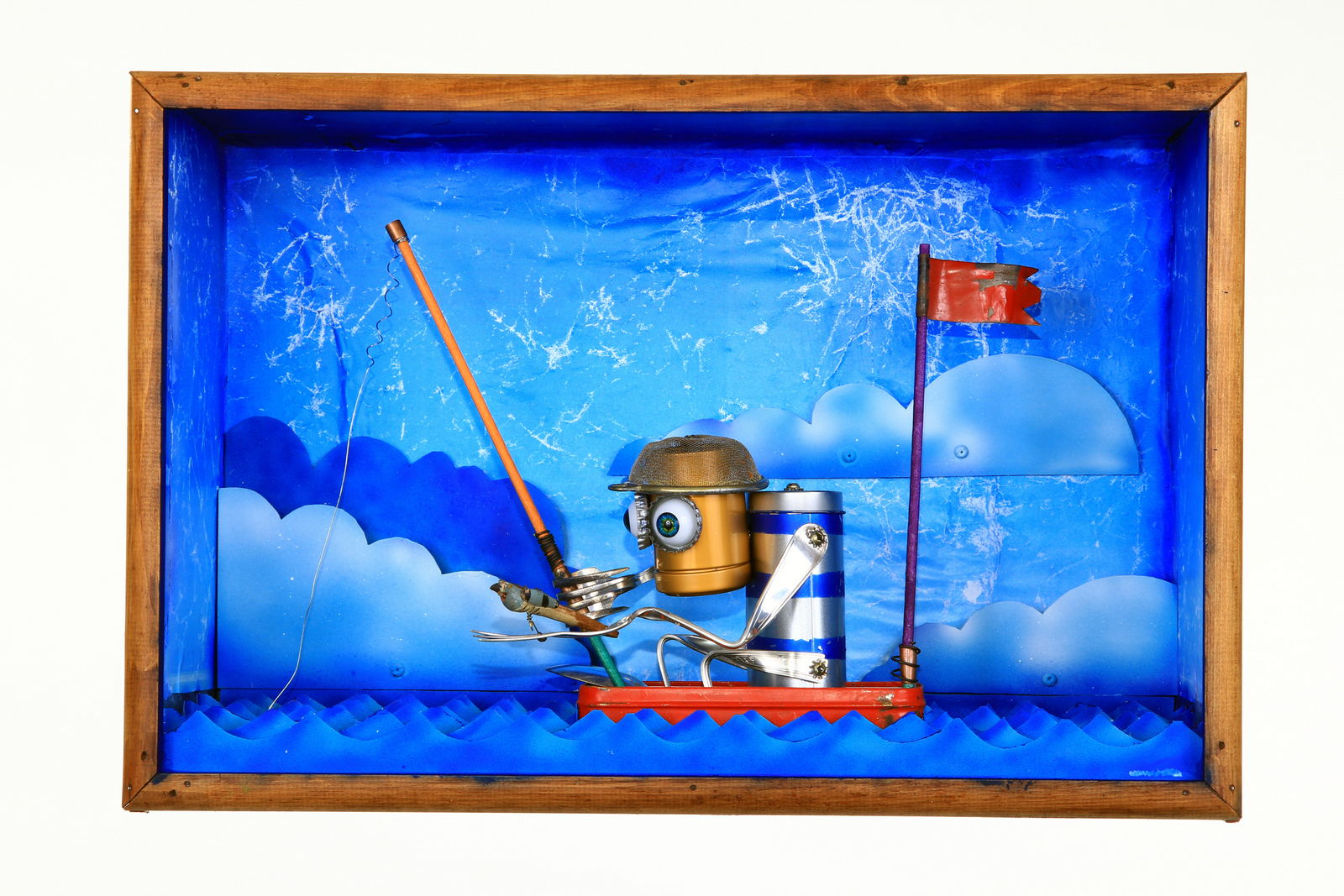 The old robot and the sea (sold))