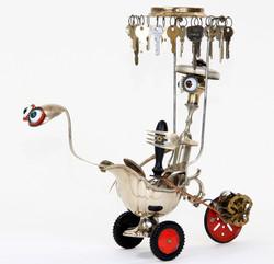 Tricycle sans pédalé avec(vendu)