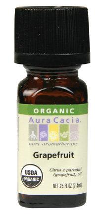 Grapefruit, Essential Oil, ORGANIC, .25 oz.
