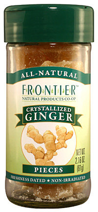Ginger Root,Crystallized, Select Whole 2.16 oz.
