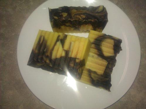 Chocolate Orange Truffle Soap,  3.5 oz