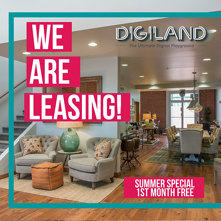 Digiland - We Are Leasing! Summer Specia