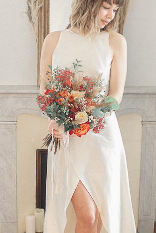 WEDDING CAP BRUN