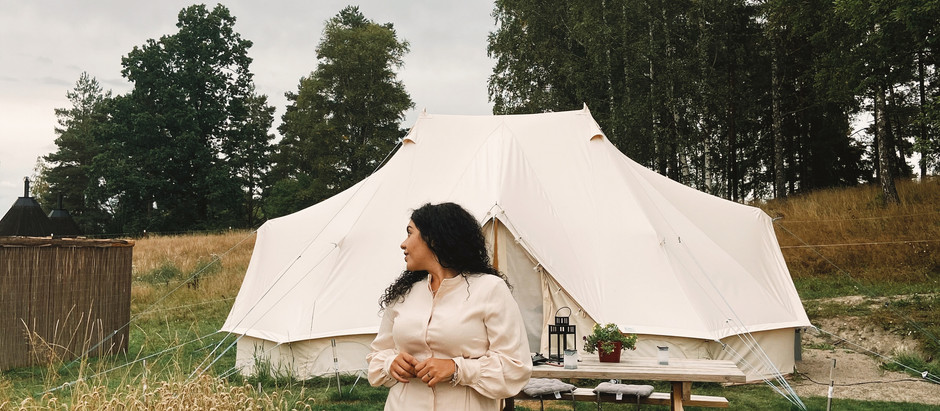Glamping in Örebro: Outfit Inspo